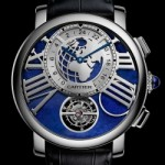 "Ora exacta de la Cartier: modelul ""Earth and Moon"""