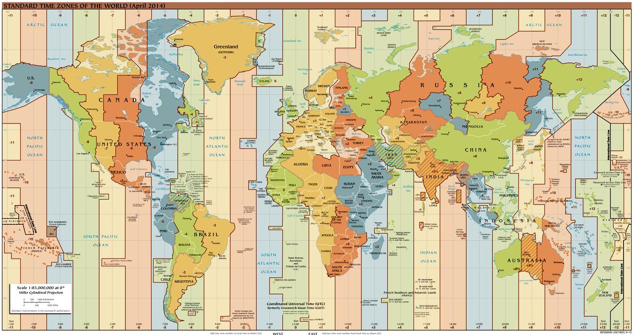 ora exacta pe glob harta